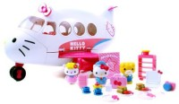 Jada Toys Hello Kitty Jet Plane Play Set (Multicolor)