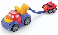 Fisher-Price Lil Zoomers Tug And Rumble Tow Truck (Multicolor)