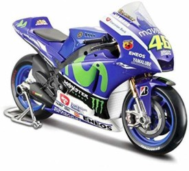 Maisto Yamaha MotoGP15 No.46 Valentino Rossi 1/10 Diecast Bike Model