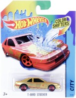 Hot Wheels Color Shifter T-Bird Stocker Vehicle (Gold)