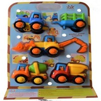 Huile Toys Happy Construction Vehicle (multicolored)
