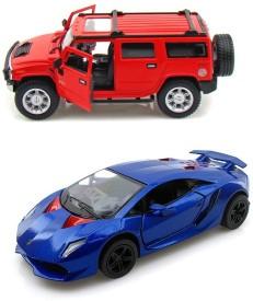 Kinsmart Hummer H2 and Lamborghini Sesto