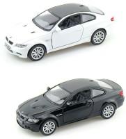 I-Gadgets Pack Of 2 Kinsmart BMW M3 Coupe (Black, White)