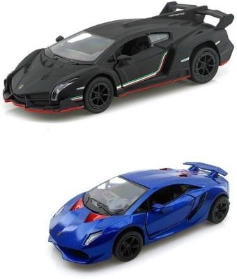 Kinsmart Cars, Trains & Bikes Kinsmart Lamborghini Veneno and Sesto Elemento