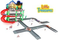 Little Treasures Deluxe Parking Maze Party Parking Lot (Multicolor)