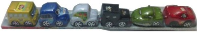 New Pinch Pack Of 6 Cars (Multicolor)