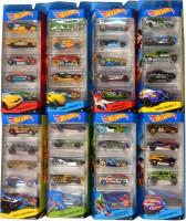 Hot Wheels 5 Car Gift Sets Asst Of 8 (Multicolor)