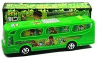 Shop & Shoppee Ben10 Bus With Flashing Light & Sound Kids Children Toys (Green)