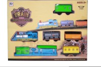 Venus-Planet Of Toys Train World Set (Multicolor)
