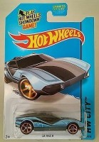 Mattel Hot Wheels Treasure Hunt Hw City La Fasta Light Blue/Black (Blue)