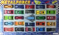 Shop & Shoppee Die Cast Metal Force Car Set - 25 Pieces (Multicolor)