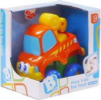 B Kids Early Start Push N Go Tow Truck (Multicolor)