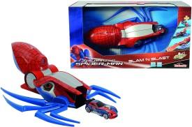 Majorette Spiderman Slam ' N Blast, 32 Cm Launcher