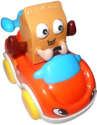 Smart Picks Delivery Motorcade Milk Car (Multicolor)