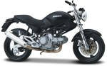 Maisto Cars, Trains & Bikes Maisto Ducati Monsterdark
