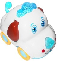 Smart Picks Dog Cute Animal Mini Car (Multicolor)