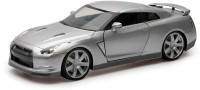 New-Ray Nissan GT-R 2009 - Open Hood Silver