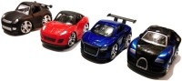 SAURABH IMPORT COMBO OF 4 CARS (MULTICOLOR)