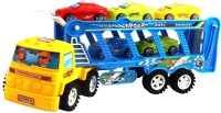 And Retails Car Carrier Friction Truck (Multicolor)