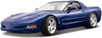 Bburago Chevrolet Corvette 1:18 Diecast Model Car (Blue)