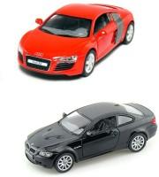 I-gadgets Kinsmart Audi R8 And Bmw M3 Coupe (Red, Black)