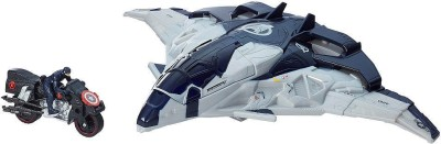 Hasbro Marvel Avengers Age Of Ultron Cycle Blast Quinjet Vehicle (Multicolor)