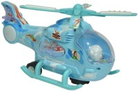 Khareedi Helicopter With Led Lights On Wings And Music For Kids (Blue)