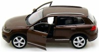 RMZ City Volkswagen Touareg Brown 1/36 Diecast Model Car (Brown)