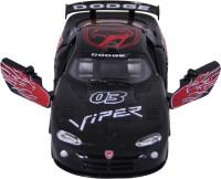 Baby Steps Kinsmart Die-Cast Metal Dodge Viper GTSR Sports (Black)