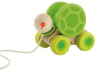 Sevi Pull Along Turtle With Motion (Multicolor)