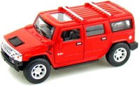 A Smile Toys & More Hummer Die Cast With Sound And Inbuilt Hid (Red)
