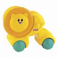 Fisher-Price Growing Baby Press & Crawl Lion (Multicolor)
