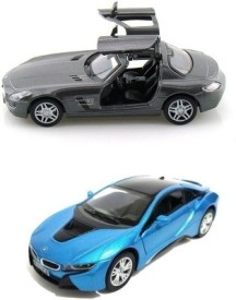 Mayatra's Kinsmart Combo Of Mercedes SLS AMG & BMW I8