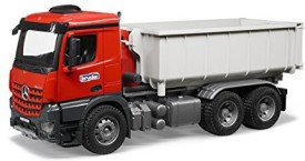 Bruder Mb Arocs Truck With Rolloffcontainer