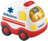 Vtech Smart Wheels Learning Car Ambulance (Multicolor)