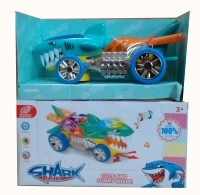 Shop & Shoppee Shark Shaped Car With Light And Music (Multicolor)