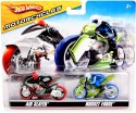 Hot Wheels Motorcycles pack - Air Slayer and Rocket Force: Vehicle Pull Along