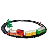 ZAPRAP Musical Sound Light Engine Train Set Toy (MULTICOLOR)