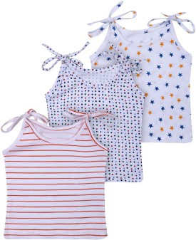 Bubbles Premium Quality New Born Vest -Jhabla - Set Of 3 (0-3 Months) Baby Girl's Vest Pack Of 3