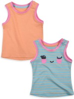 Mothercare Baby Girl's Vest (Pack Of 2)