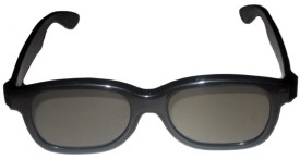 Real 3D 1 x Circular Polarized Video Glasses