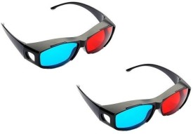 Real 3D Rd2 ( Pack Of 2 ) Red Cyan Anaglyph Video Glasses