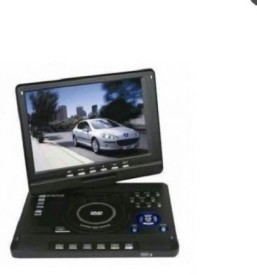 Portable 7.8inch TFT DVD Player With TV Tuner & 3d 7.8 inch DVD Player