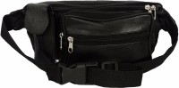 Redix Safety Waist Leather Bag Black