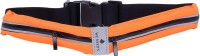 CHKOKKO Expandable Sports GYM Running Dual Pocket Belt Waist Bag Orange