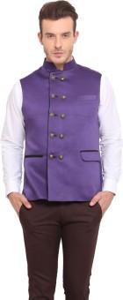 Ennoble Solid Men's Waistcoat - WSCED7CN8DMHCDZ9