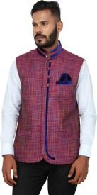 Shahjada Self Design Men's Waistcoat