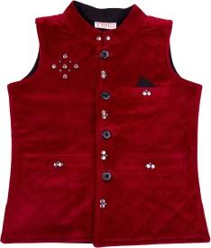 Fbbic Embellished Boy's Waistcoat