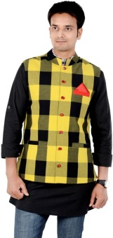 Forge Checkered Men's Waistcoat