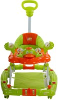 Mee Mee Walker Cum Rocker With Parents Push Handle (Green)